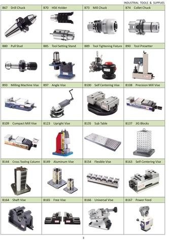 Tools of Workholding & Precision Tools for Mills & VMCs