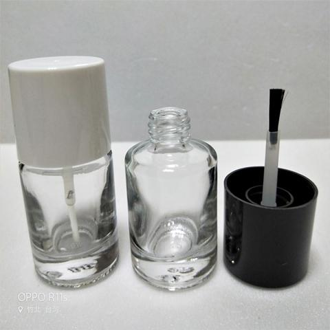 12ml Clear Glass Nail Polish Bottle