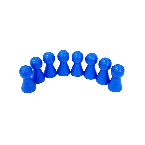 15*27mm Blue Wooden Pawn