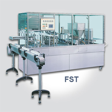 cup filling machine pre cut lid