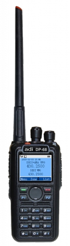 DP-68, Dual Band Radio Portable Digital Radio Interoperable with Analog