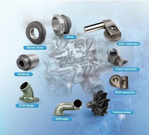 investment casting, machining and leakage test for EGR parts