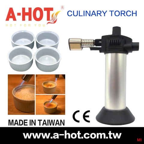 POCKET	HANDHELD	PASTRY LIGHTER TORCH