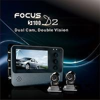 Motorcycle Camera Drive Recorder FULL HD 1080P 2CH Front and Rear Double Vision Waterproof two cameras