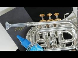 "Buy now: https://www.amazon.com/CarolBrass-CPT-1000-YSS-Bb-L-Mini-pocket-trumpet/dp/B07WT3X1HZ?ref_=ast_sto_dp CarolBrass 6.8"" mini-pocket trumpet"" It is probably one of the smallest play-able Bb trumpets in the world. The reason we develop that ""small"" instrument is because we want to attract more people to enjoy in playing the brass instrument. The mini-pocket has special designed small rim edged yellow brass bell and overall light weight construction, it is easy to play we suppose it is a perfect Bb brass instruments for all players (especially designed for kids, first year players, amateur players and even pro players) at every occasions and every time. *This model is covered by USA, EU, Taiwan and China patent. Sourcing more Taiwan Products: https://www.taiwantrade.com"