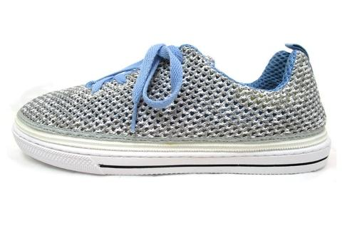 Gray knit cover - convertible shoes rutis