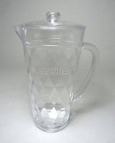 ACRYLIC PITCHER DIAMOND DESIGN