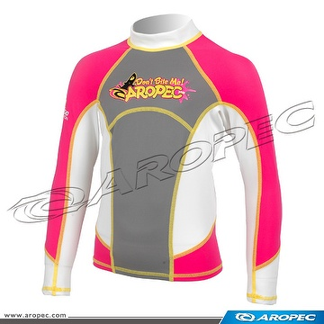 Kid's Lycra Long Sleeve Rash Guard, Kid's, Neoprene, Kids