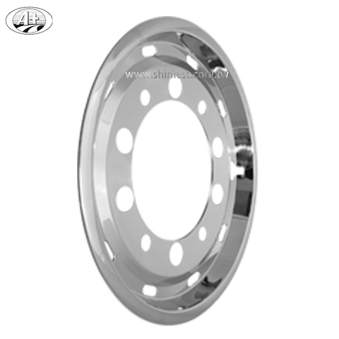 High Quality  304 stainless steel 16 iveco wheel cover