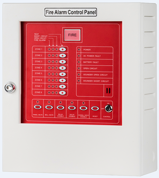 YF-3 8 Zone Conventional Fire Alarm Control Panel