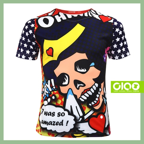 Fashion sport boys clothing Customized colorful oversized boys clothing