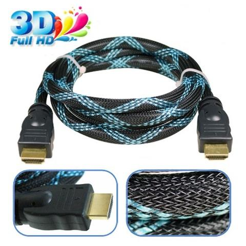 High Speed HDMI Braided Cable with Ethernet-5M