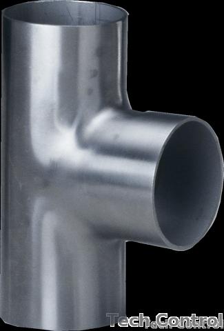 Tech Control Sanitary Stainless Steel Cross, Tee