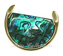 Paua Shell Fashion Brooch