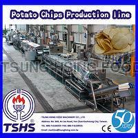 High Quality Large Type Oil Fried Crispy Tapioca Chips Processing Line