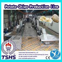 Hot Sale Continuous Professional Fresh Potato Chips Processing Line