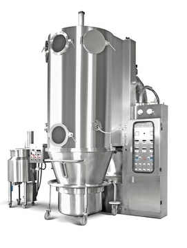 Fluid-Bed Spray Granulator / Dryer-Production Size