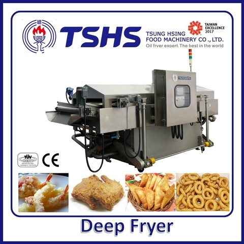 High Efficiency Energy Saving  Automatic Onion Fryer Machine