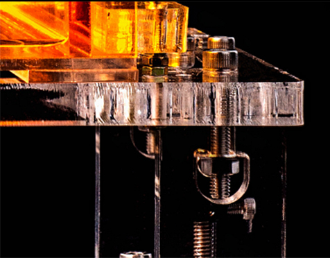 bolt hole, Crystal, FunPlay Series, SLA 3D Printer, DIY 3D Printers, 3D Dream Workshop, Anjun