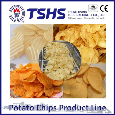 Made in Taiwan High Quality Tapioca Chips Factory Machines
