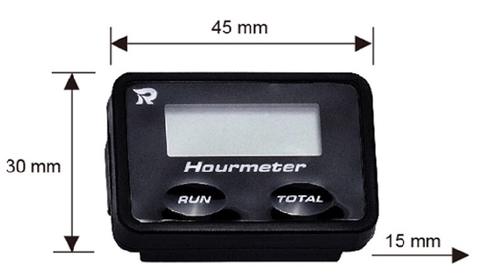 Taiwan Digital Inductive Hour Meter for ATV Motorbikes