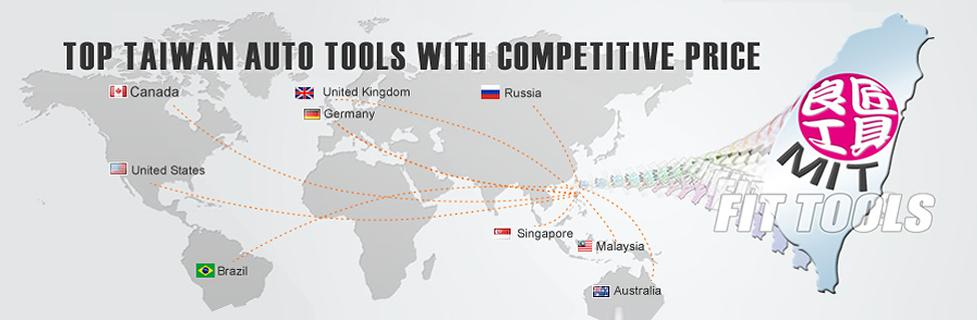 FIT TOOLS IS TOP TAIWAN AUTO TOOLS WITH HIGH QUALITY & COMPETITIVE PRICE