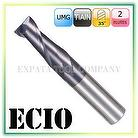 2 Flutes End Mill-Standard Length