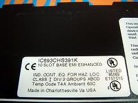 GE FANUC IC693CHS391K 10 SLOT BASE