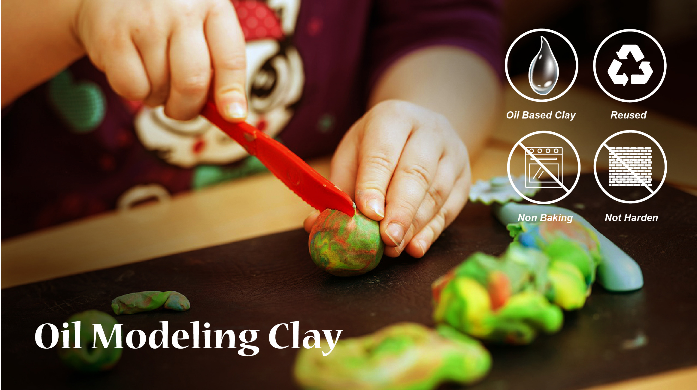 Oil Modeling clay