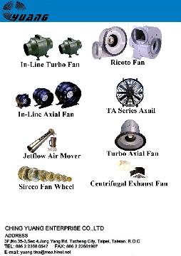 In Line Turbo Fan, In Line Axial Fan, Ricoto Fan, Turbo Series, Roof Ventilator