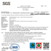 SGS 470 pesticides test report