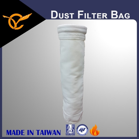 PET Filter Bags, Surface Singeing PET Filter Bags