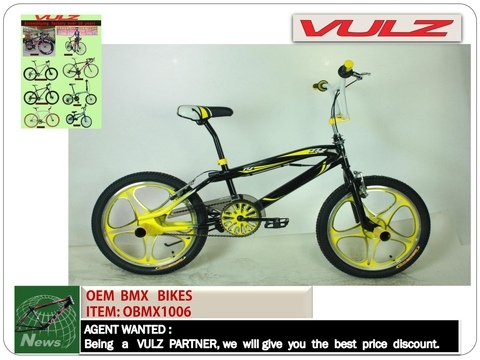 BMX , hi- ten, alloy frame,