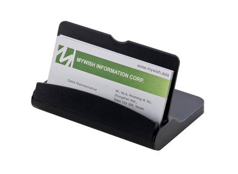 ABS Business Card Holder Case with Mobile Phone Stand /Promotional Item /Gifts