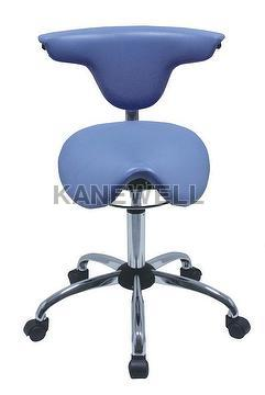 SADDLE PLASTIC SEAT CHAIR,  WITH BACK  + WHOLE SALER