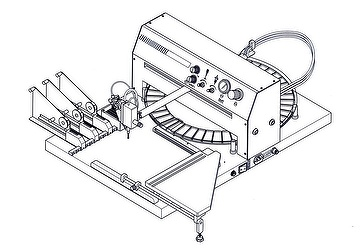 Semi-automatic SMT  Pick and Place Machine with dispenser