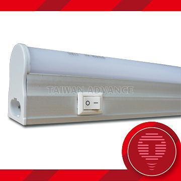 Taiwan T5 LED Batten Light With Switch - 2ft 3ft 4ft