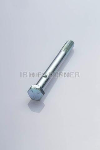 Hex Head Bolt With Hole Parcial Thread Grade 5 Zp Taiwantrade Com