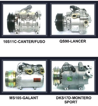 Taiwan Automobile AC air conditioning compressor for