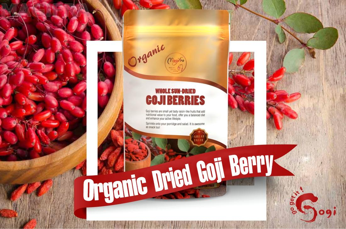 Organic Dried Goji Berries 150g 1pcs Taiwantrade Com