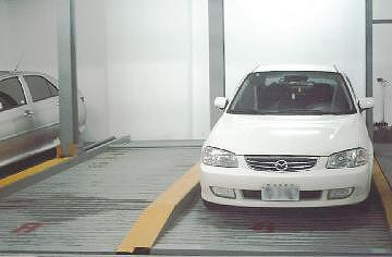 Two-tier parking system