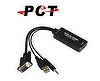 VGA to HDMI and extra Audio output Converter