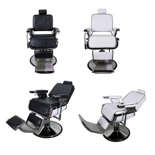 Luxury Iron Casting Hydraulic Recline Barber Chair_jean-moderns