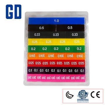 Color Learn Decimal Set 51pcs