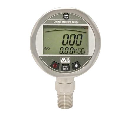 LCD digital display pressure gauge