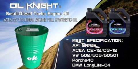 Oil Knight Turbine car-Light-diesel engine oil-C3