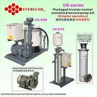 变频恒压泵机组(单独运转)