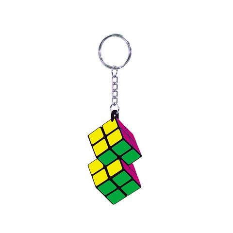 2x2x2 迷你二連結吊飾魔術方塊 (鑰匙圈)