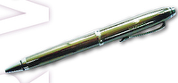 Office metal ballpoint or rollerball pen