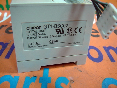 OMRON GT1-BSC02 MODULE BASE 16POINT OUTPUT